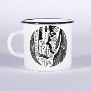 Mug émaillé ARCACHON-CAP FERRET
