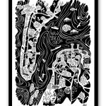 GRAND POSTER ARCACHON – CAP FERRET