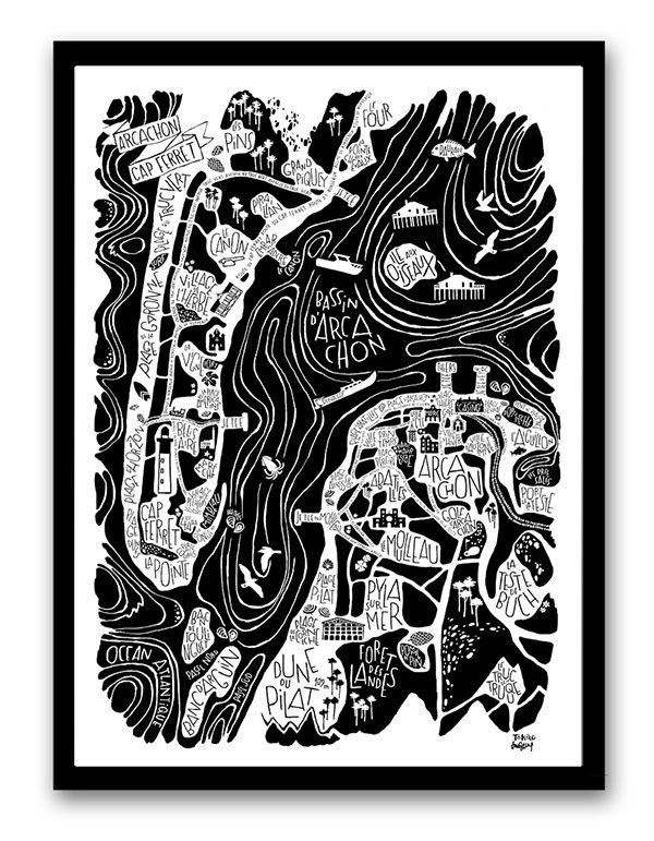 Arcachon / Cap Ferret poster