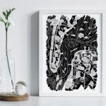 Petit Poster Arcachon-Cap Ferret