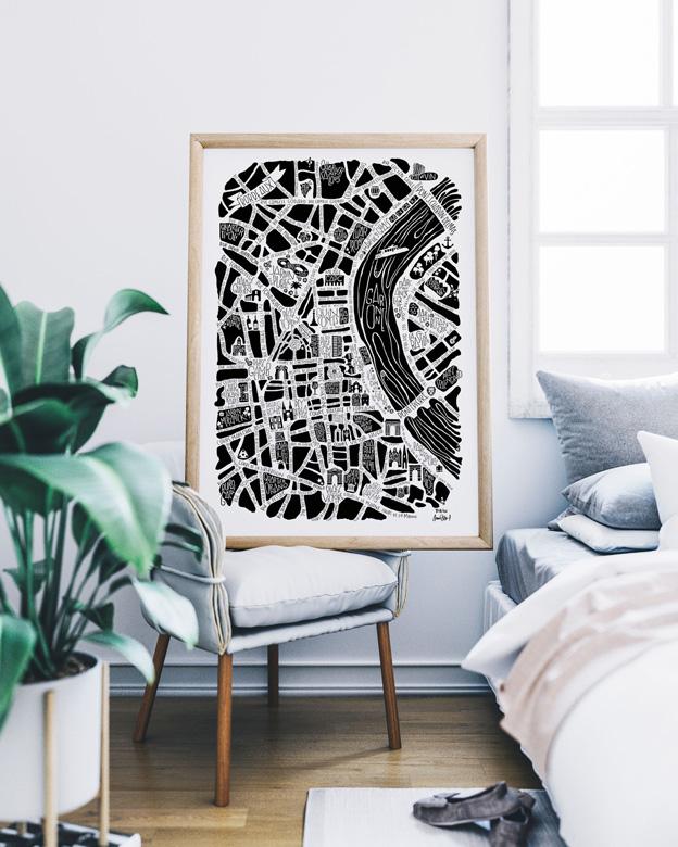 Tokiko Poster Bordeaux Chambre